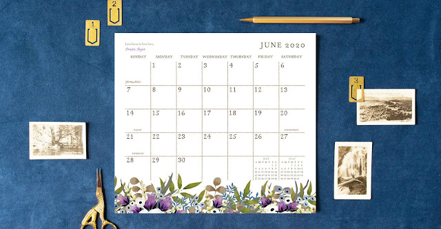 Keep track of appointments and activities with this great Magnetic Calendar Pad