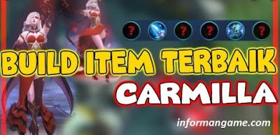 Build Item carmila