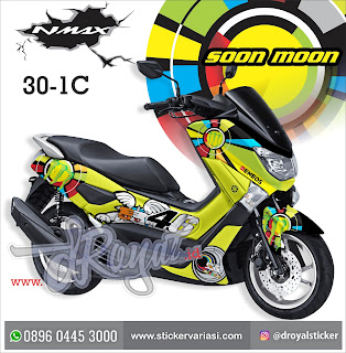 sticker decal nmax