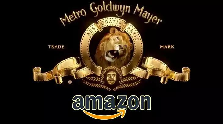 Amazon owned MGM Metro-Goldwyn-Mayer Studio, logo