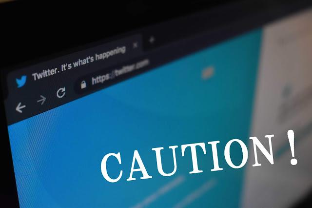 SNSを使った情報拡散への注意喚起