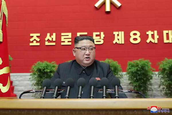 Kim Jong Un Declares WPK 8th Congress Open, January 5, 2021
