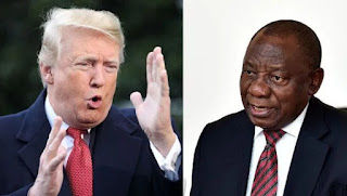 Trump Breaks Silence, Threatens to Sanction South Africa
