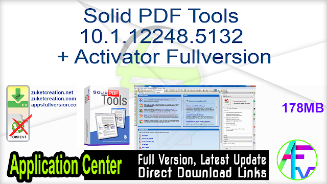 Solid PDF Tools 10.1.12248.5132 + Activator Fullversion