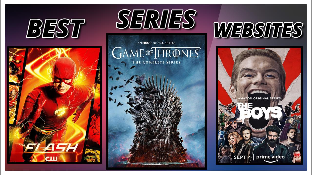 Best websites for downloading TV series, TV Shows (Season) movies