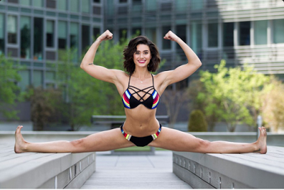 van-damme-daughter-1 See Amazing Pictures Of Van Damme's Daughter Who Is Also A Fitness Enthusiast Entertainment