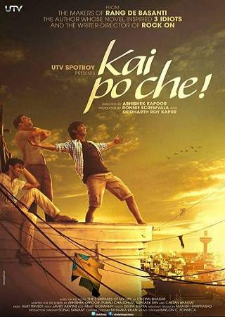 Kai po che 2013 Full Hindi Movie Download 950MB BluRay ESubs 720p