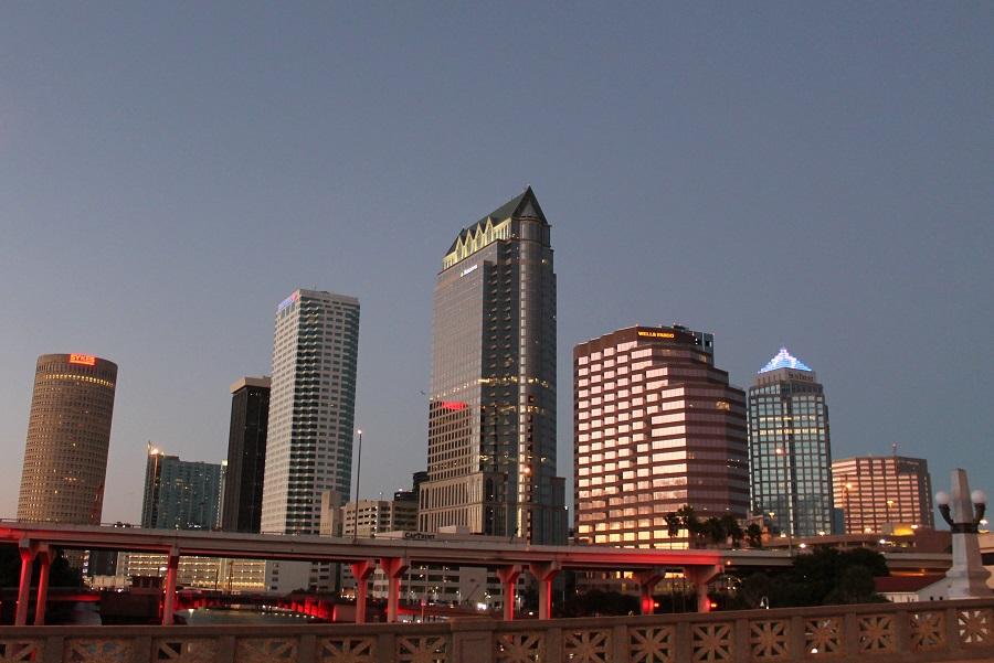 Centro de la ciudad de Tampa