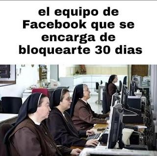El equipo de Facebook que se encarga de bloquearte 30 días