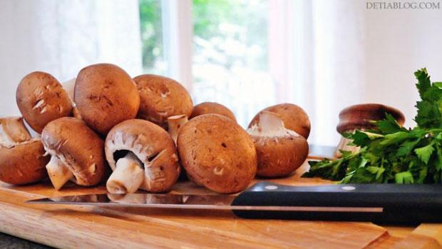 gambar jamur yang bisa dimakan