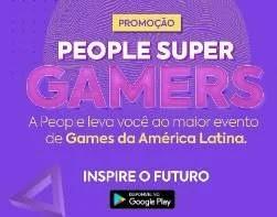Cadastrar Promoção Cursos People 2020 Super Gamers Viagem BGS