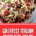 Greatest Italian Spaghetti Salad #spaghettirecipes #italianspaghetti