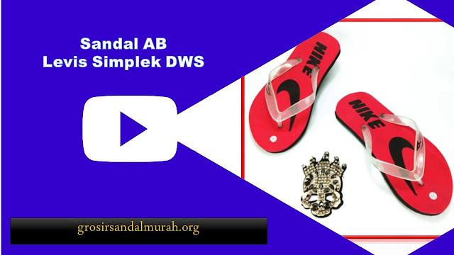 Grosirsandalmurah.org - Sandal Pria - AB LEVIS SIMPLEK DWS