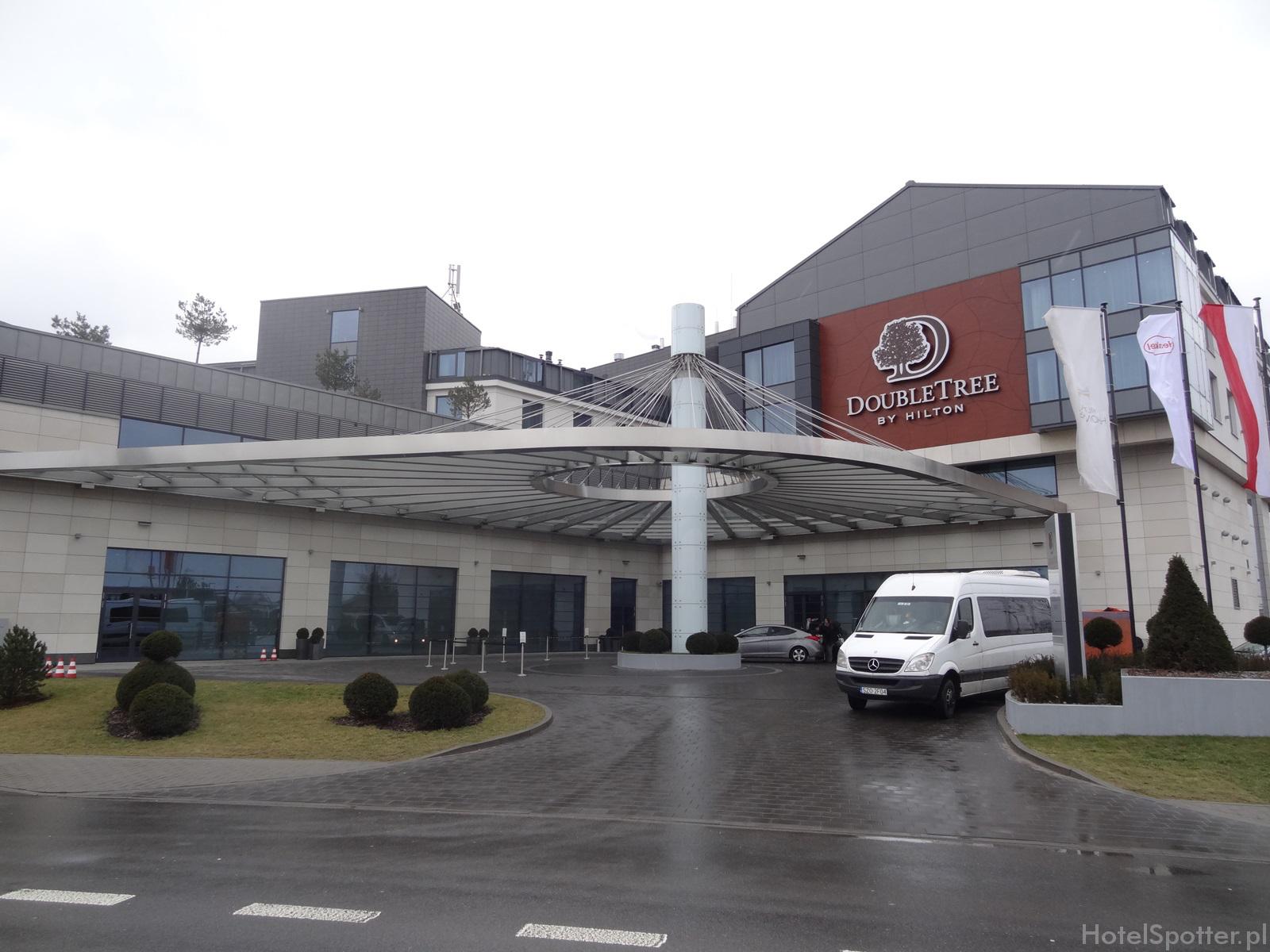 DoubleTree by Hilton Warsaw wyglad hotelu