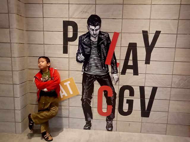 Bioskop CGV Buaran Plaza - instagramable