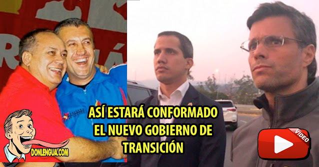 Leopoldo López asegura que el Entorno de Maduro participará en un nuevo gobierno de Transición