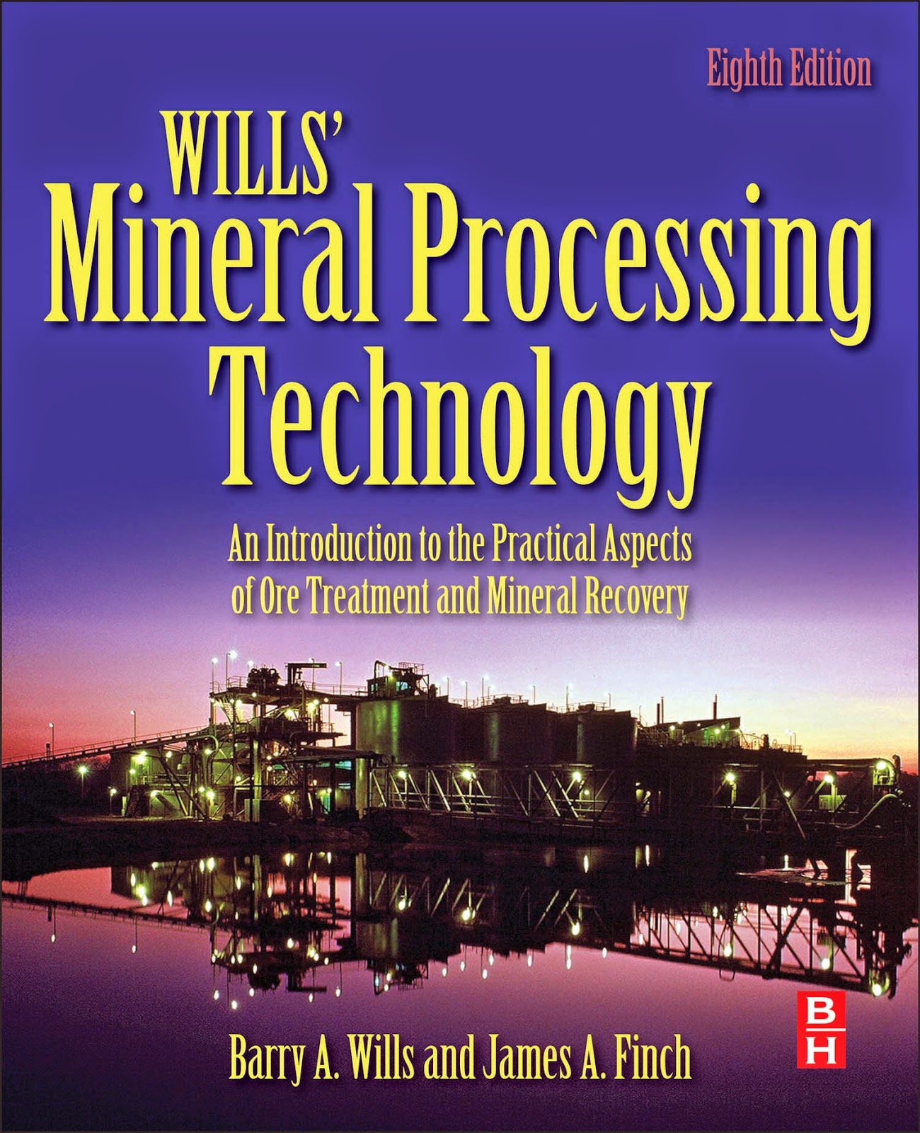 Wills Mineral Processing Technology 8th edition