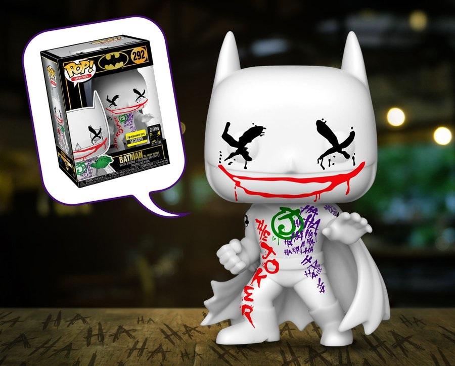 "The Blot Says   : Batman ""The Joker's Wild"" POP! DC Comics"