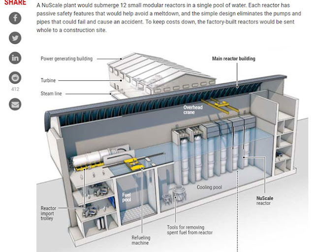 Nuscale offers one version of small factory produced nuclear plants (Source: Nuscale)