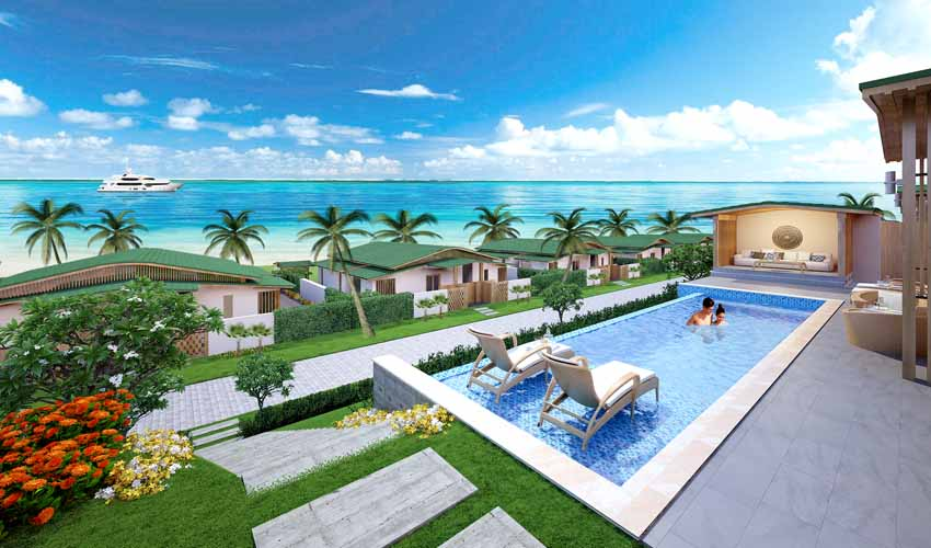 Biệt thự Venesea Field Luxury Resort