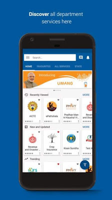 UMANG app by Govt of India