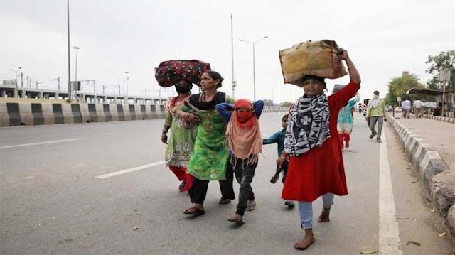 प्रदेश सरकार ने मजदूर दिवस पर घर वापसी का खोला द्वार।