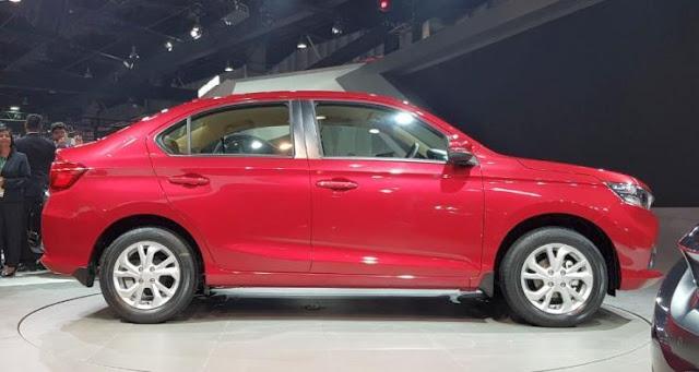 All New-Gen 2018 Honda Amaze Side view image