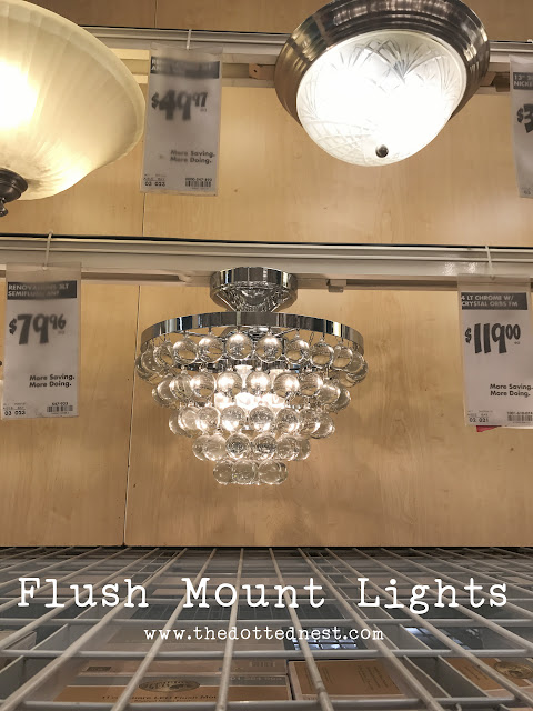 Flush Mount Lighting From Home Depot | How To Choose The Perfect Light
