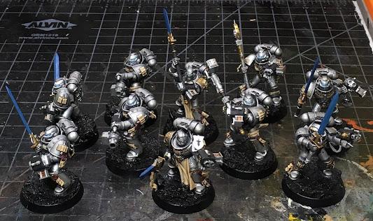 Grey Knight Strike Squads WIP