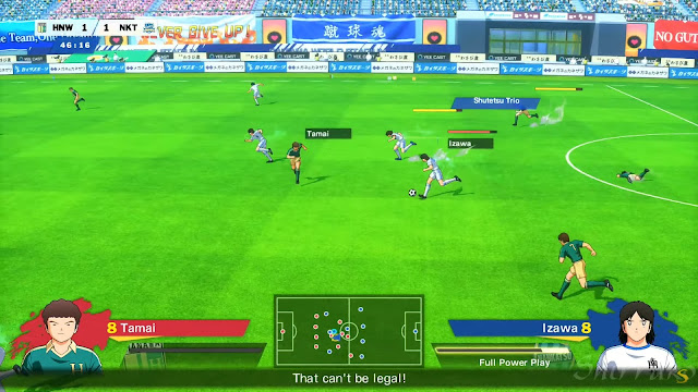 Screenshot Gameplay Captain Tsubasa: Rise of New Champions