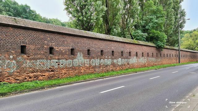 Antykomunistyczne napisy na murach w Toruniu