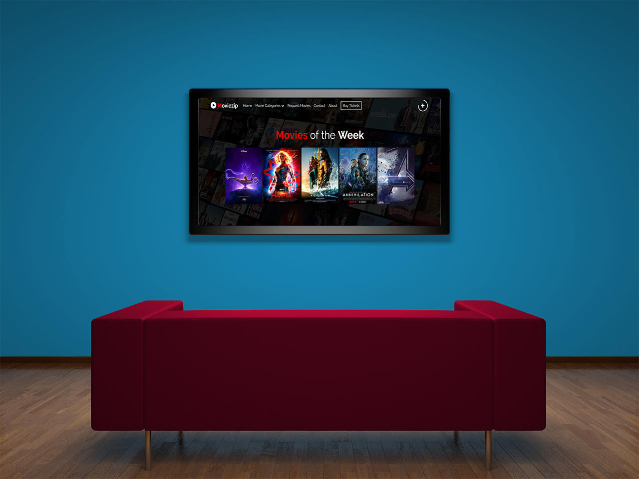 Moviezip Blogger Theme