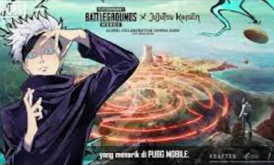 Jujutsu Kaisen Mengutuk PUBG Mobile Dalam Kolaborasi Baru