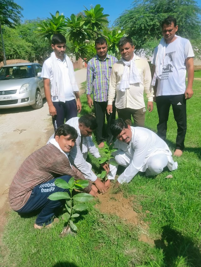 श्री राम जानकी सेवा संगठन ने किया पर्यावरण जागरुकता अभियान का शुभारंभ।
