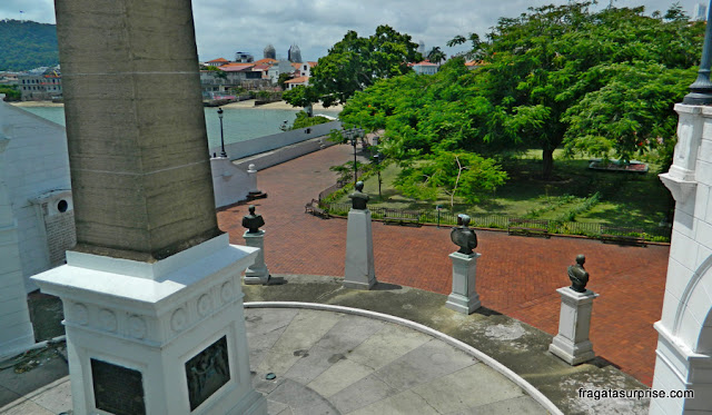 Plaza Francia, no Centro Histórico da Cidade do Panamá