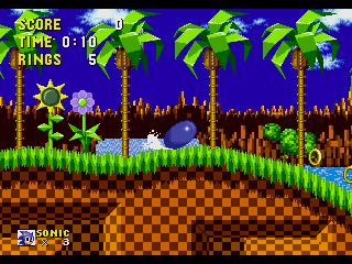 sonic 1 spin dash