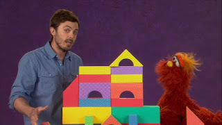 Casey Affleck and Murray explain what careful means. Sesame Street Episode 4304 Baby Bear Comes Clean