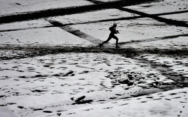 Бегун на снегу