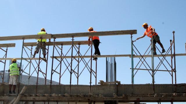 Πτώση της οικοδομικής δραστηριότητας στην Πελοπόννησο - Πανελλαδικά όμως ανέβηκε 9,2%