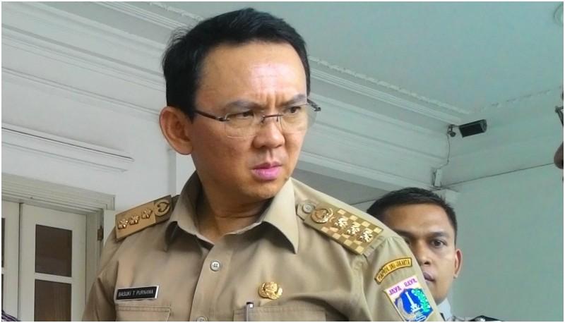 Gubernur DKI Jakarta Basuki Tjahaja Purnama berbicara soal Jakmania