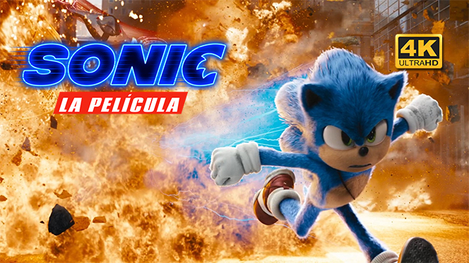 Sonic, la película (2020) 4K UHD 2160p Latino-Castellano-Ingles