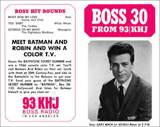 KHJ Boss 30 No. 28 - Gary Mack