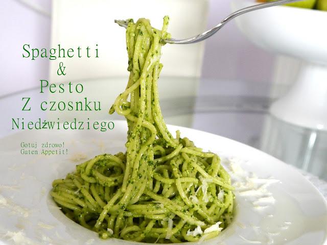 Spaghetti i pesto z czosnku niedźwiedziego - Czytaj więcej »