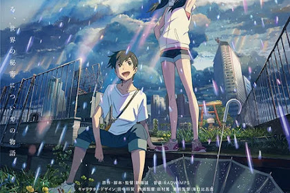 Weathering With You (Tenki no Ko) Reveals 2nd Trailer, Visuals, Casts, and Radwimps Theme Songs Ft. Toko Miura