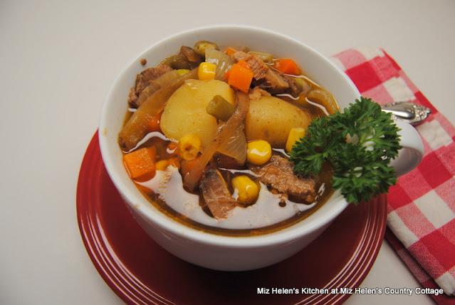 Brisket Soup at Miz Helen's Country Cottage