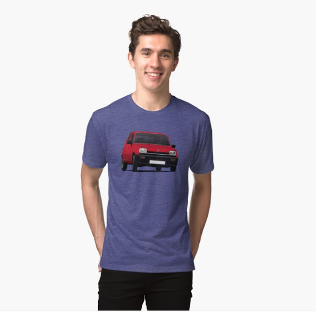 Renault 5 red tshirt