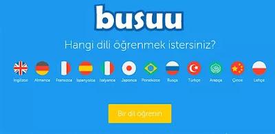 internetten ingilizce öğrenme siteleri busuu