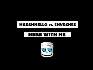 Marshmello-Here-With-Me-Lyrics