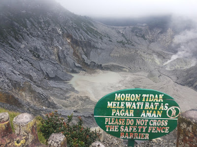 Salah satu wisata alam di Tangkuban Parahu, Lembang, Jawa Barat yang menarik dikunjungi