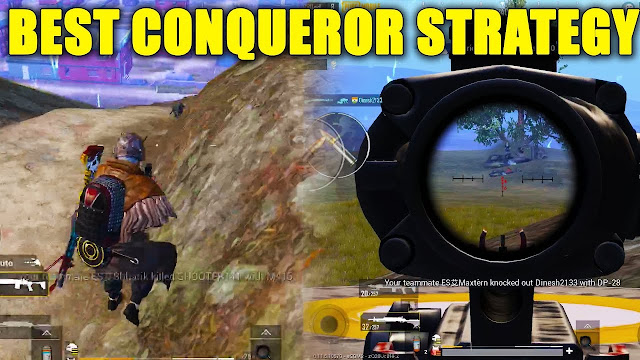 TIps For Reaching Conqueror Tier In PUBG MOBILE
